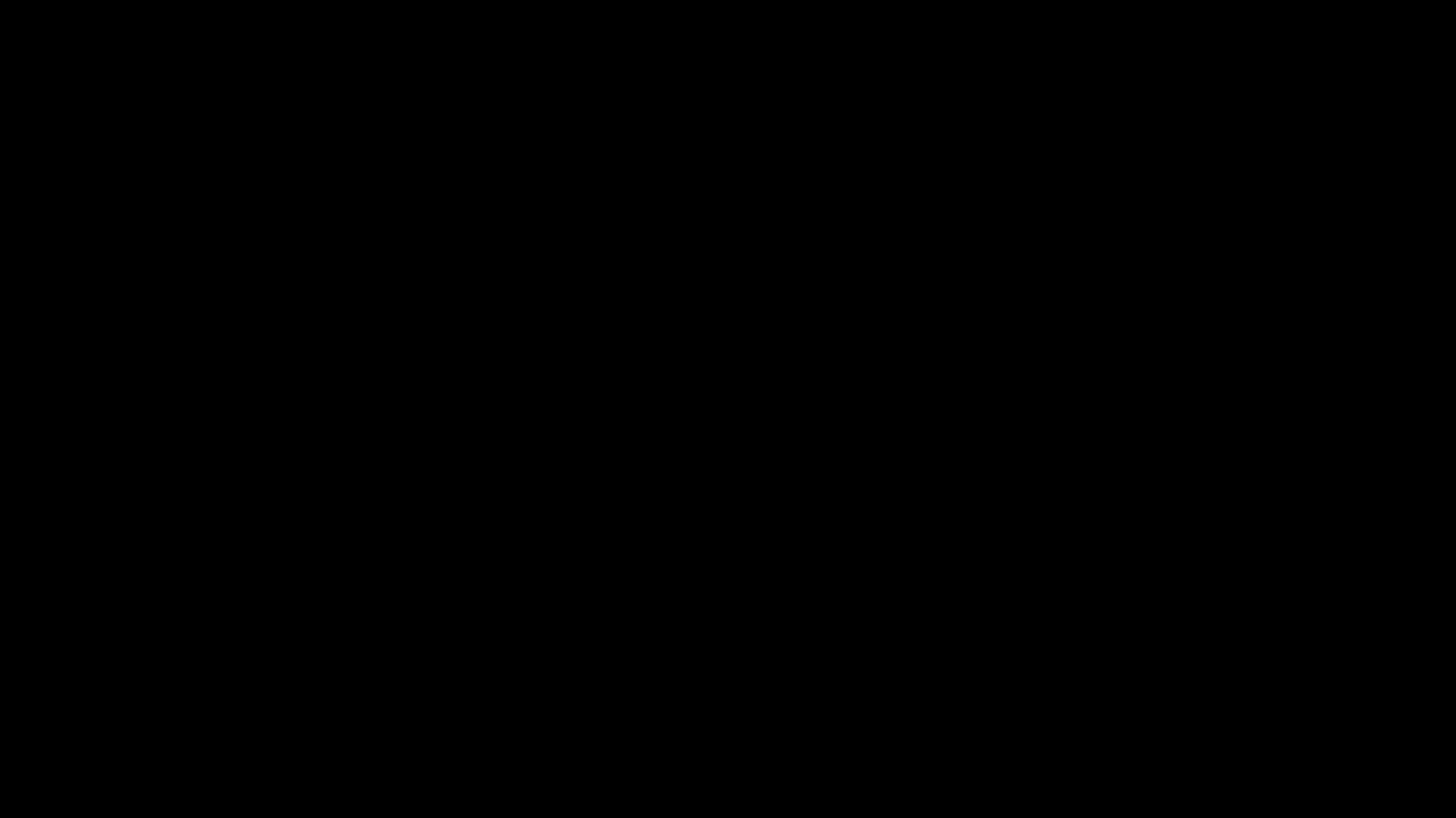 Canta Rainette - Logo noir